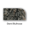 Granite counter top Demi Bullnose Edge