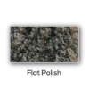 Granite counter top Flat Polish Edge