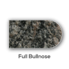 Granite counter top Full Bullnose Edge