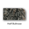 Granite counter top Half Bullnose Edge