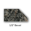 Granite counter top Half Inch Bevel Edge