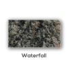 Granite counter top Waterfall Edge