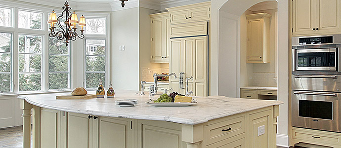 Kitchen Counter Surfaces : Kitchen Countertops ? Popular Materials ? Charlotte NC