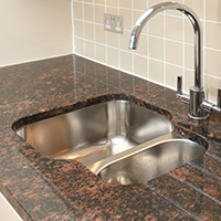 Nice Undermount Kitchen Sinks Granite Countertops Charlotte Nc