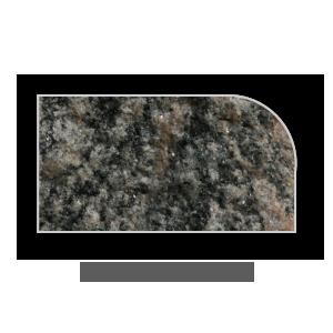 Granite Counter Top Demi Bullnose Edge