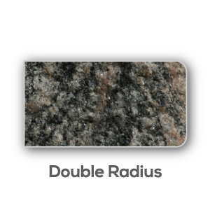 Granite Counter Top Double Radius Edge
